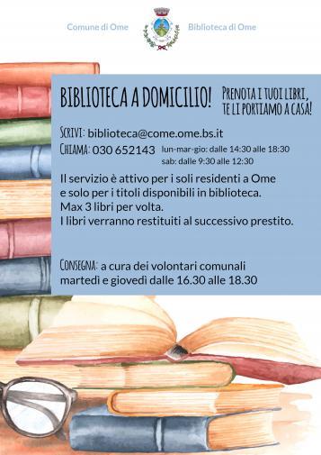 Locandina Biblioteca Comunale