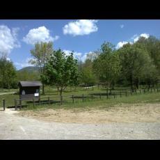 Ingresso del Parco dal Bosco delle Querce